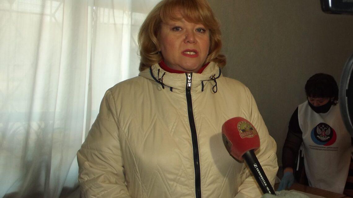 Семьи с детьми-инвалидами получили наборы от Общественного Движения «Донецкая Республика»