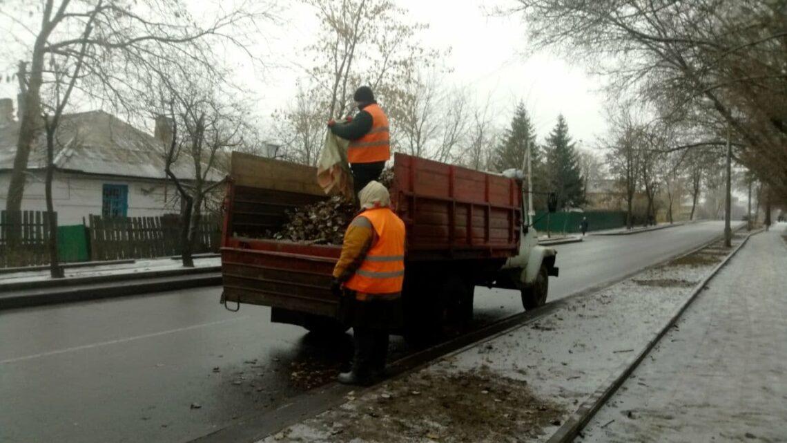 В Куйбышевском районе продолжаются работы по наведению чистоты и порядка
