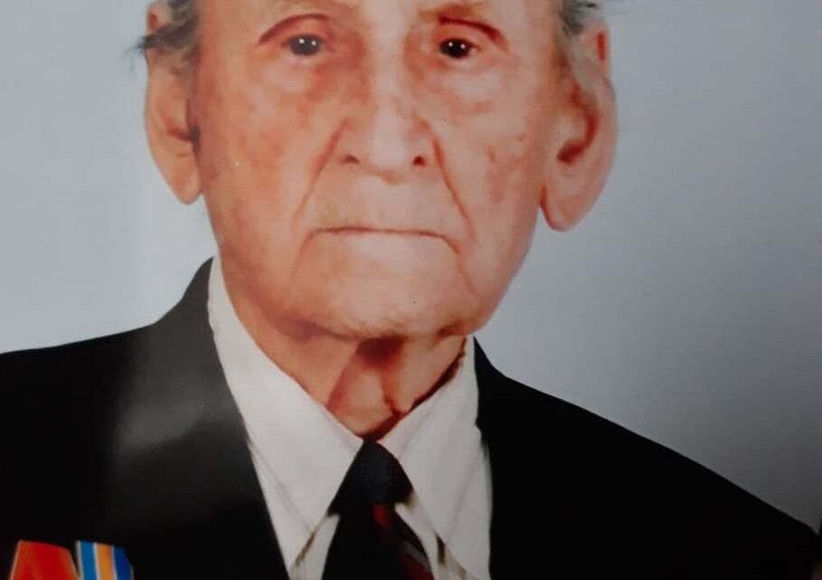 Общественники поздравили с Юбилеем ветерана Великой Отечественной Войны