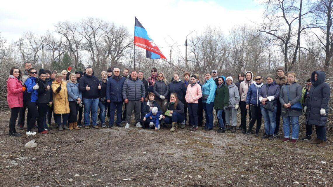 В Куйбышевском района состоялся республиканский субботник