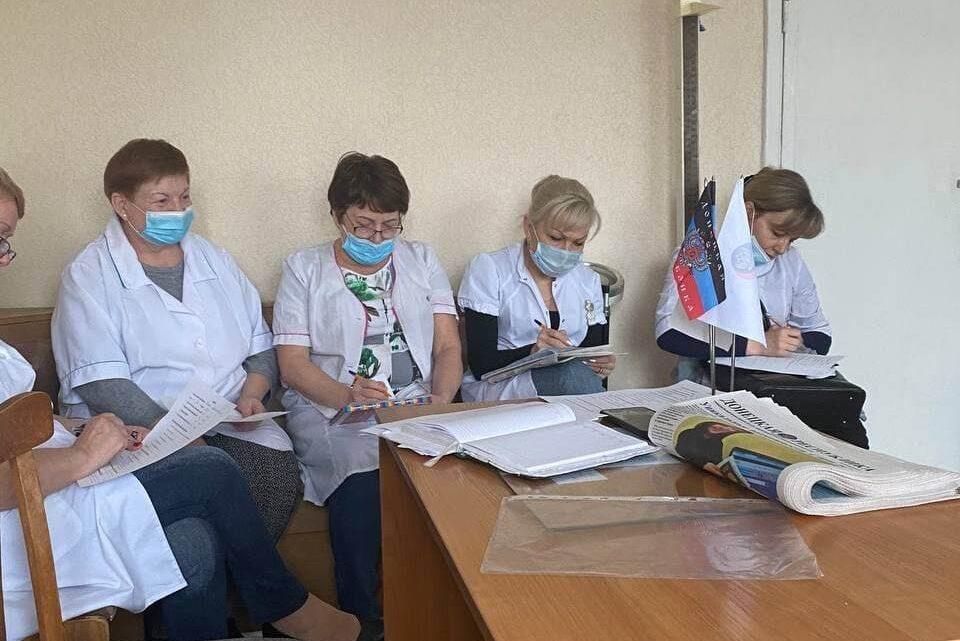 Актив местного отделения ОД «ДР» провел встречу с трудовым коллективом Центра первичной медико-санитарной помощи №7