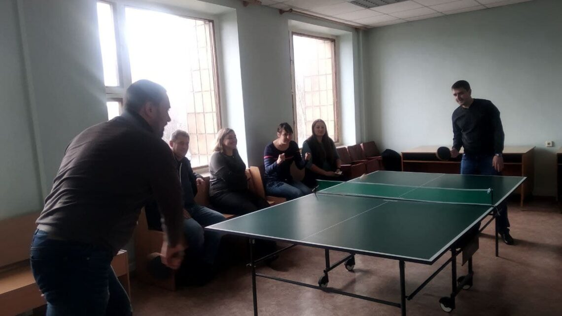 Мини-турнир по настольному теннису