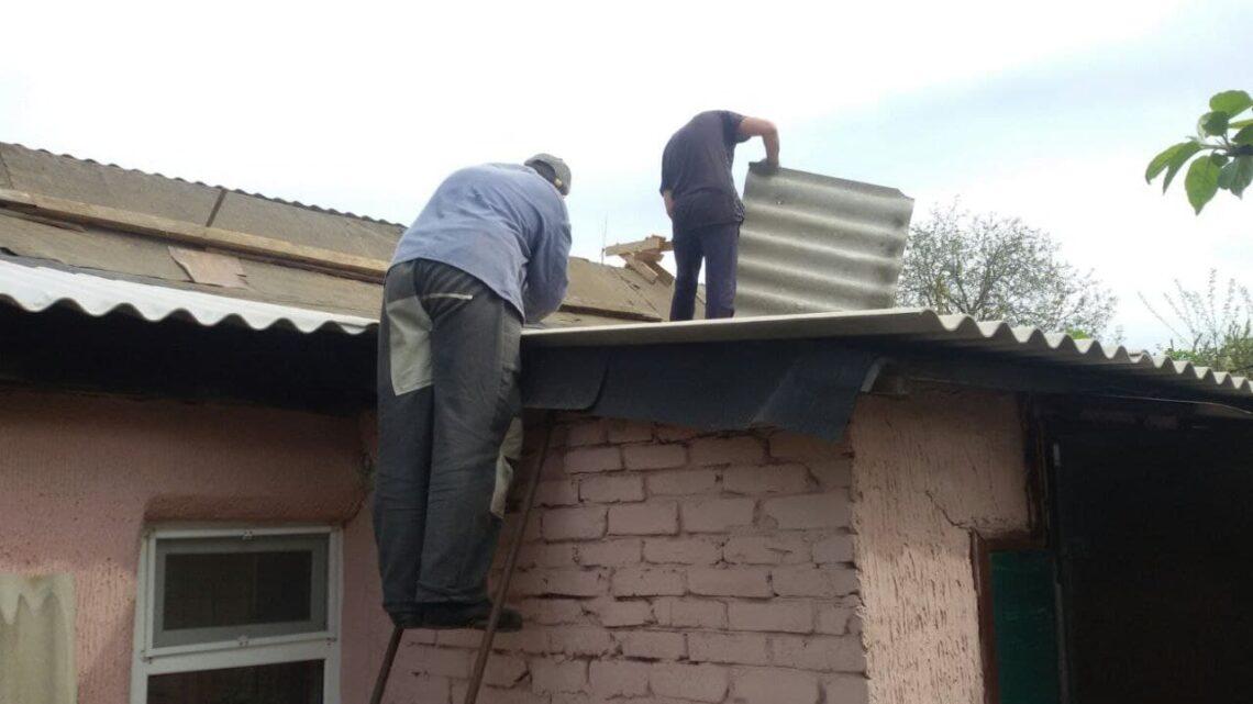 Работы по восстановлению в Куйбышевском районе