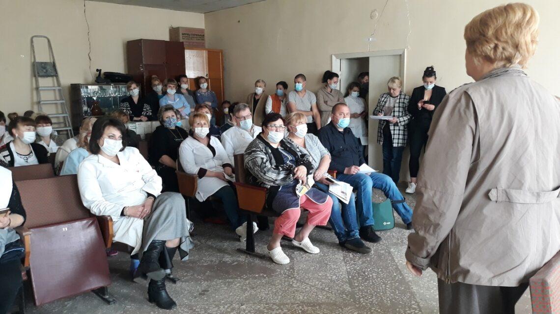 Актив местного отделения ОД «ДР» провел встречу с трудовым коллективом