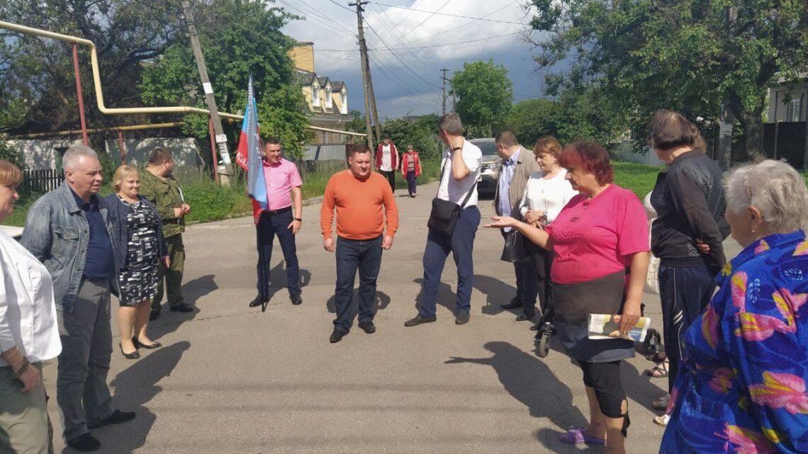 «Встречи во дворах» в Куйбышевском районе