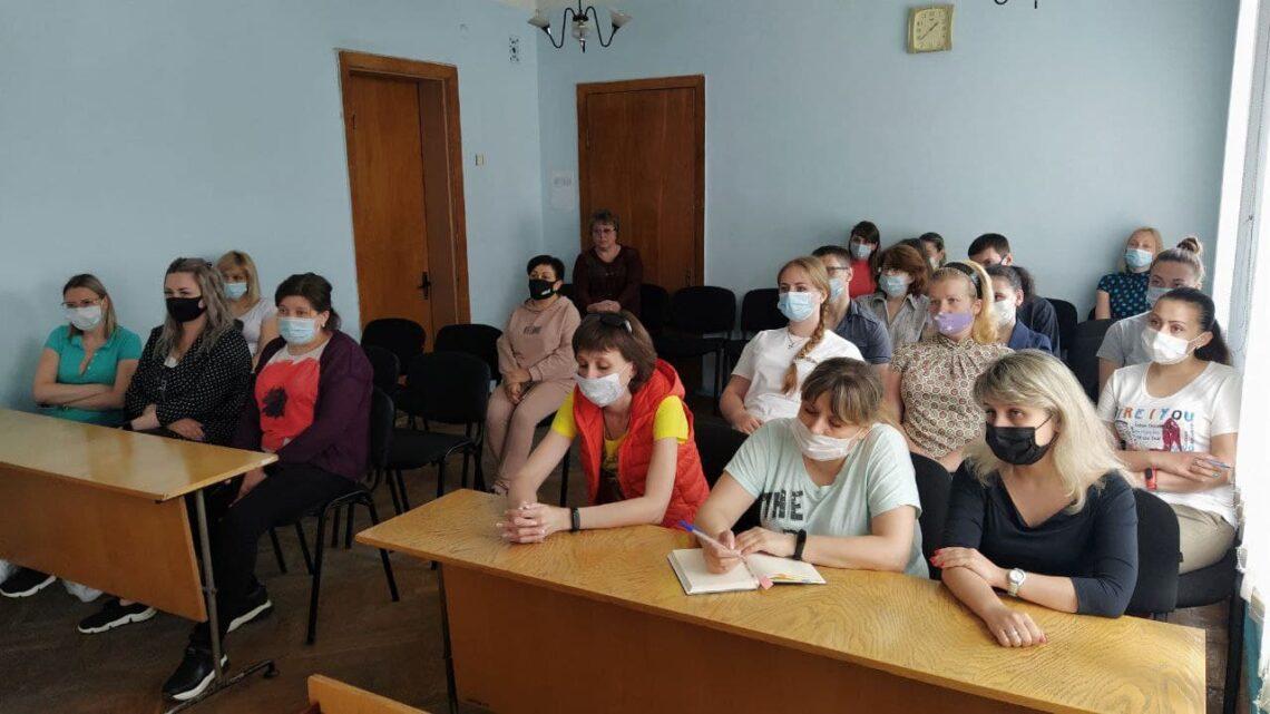 Актив местного отделения ОД «ДР» провел встречу с трудовым коллективом.