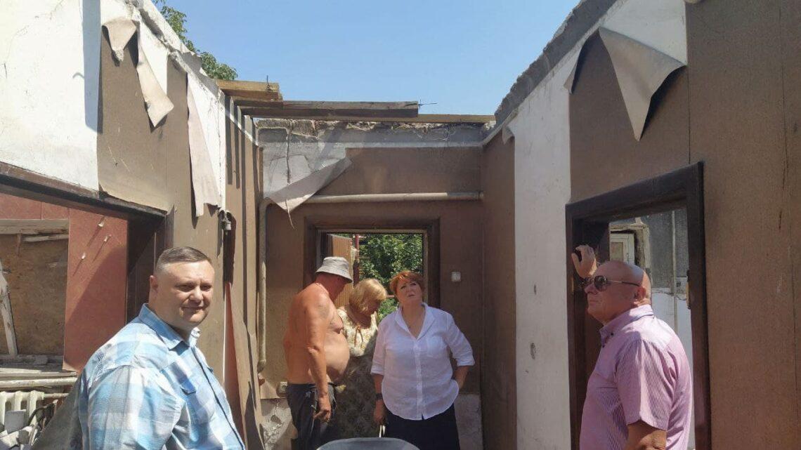 В Куйбышевском районе продолжаются работы по восстановлению пострадавшего жилья