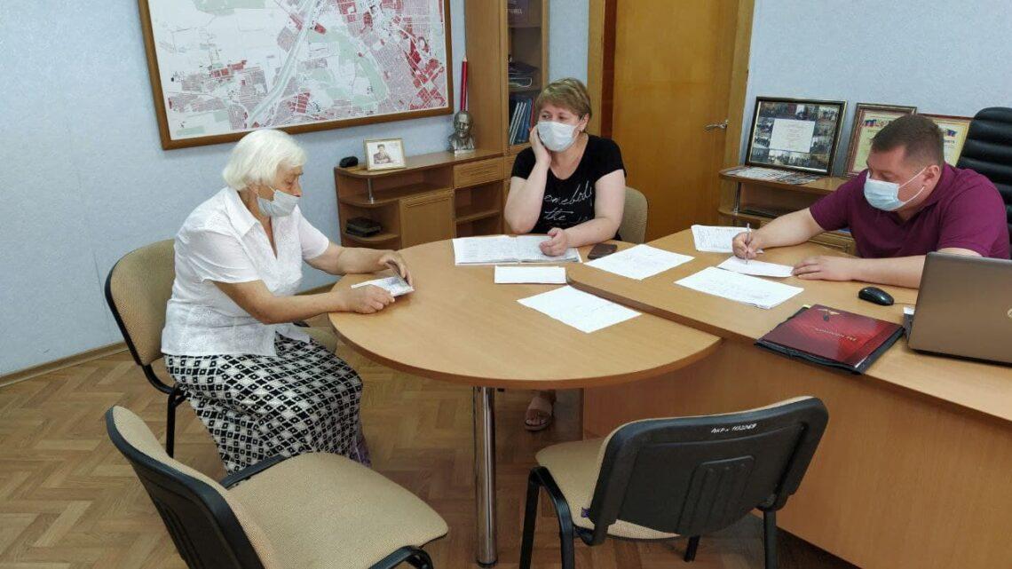 В Куйбышевском районе прошел прием граждан руководителями администрации района