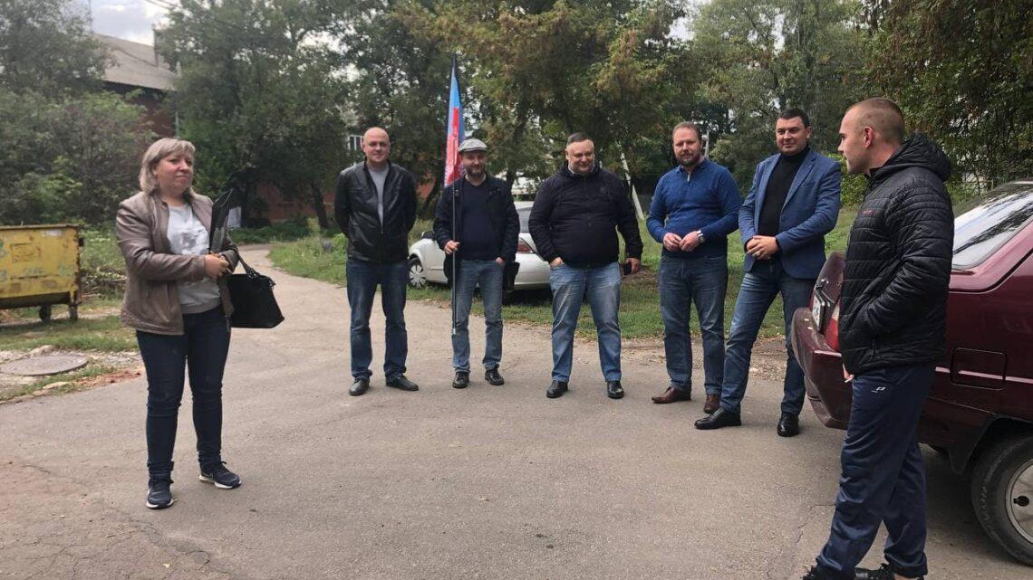 """""""Встречи во дворах"""" в Куйбышевском районе"""