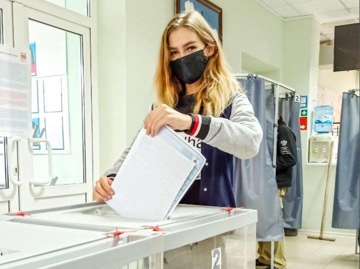 ✅Активисты Куйбышевского района продолжают голосовать